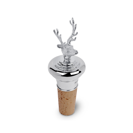 Stag Head Bottle Stopper