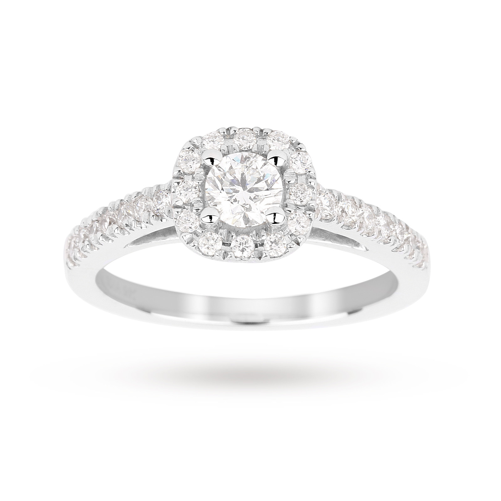 carat of ideas karat ring view with to diamonds regard rings white gold wedding engagement