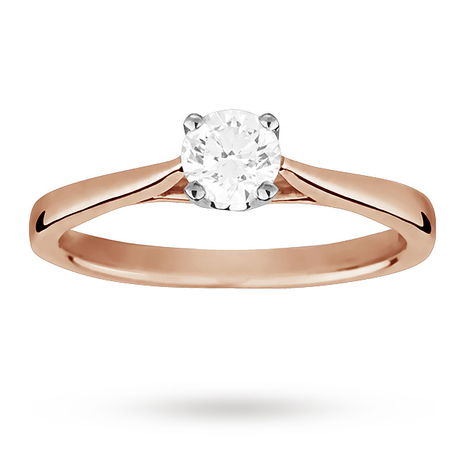 beers gold promise solitaire engagement rose rings de ring