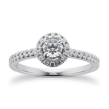 Amelia Engagement Ring With Diamond Band 0.50 Carat Total Weight