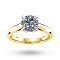For Her - Belvedere 18ct Yellow Gold 0.40ct Diamond Engagement Ring - M06016521