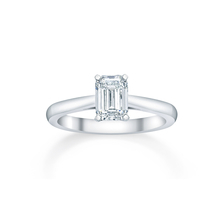 Belvedere Platinum 0.50ct Diamond Engagement Ring