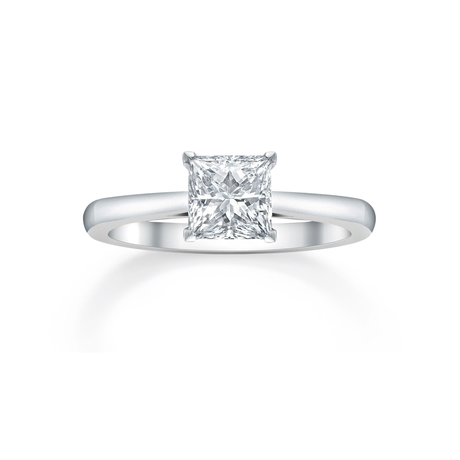 Mappin & Webb Belvedere Platinum 1.01ct Diamond Engagement Ring