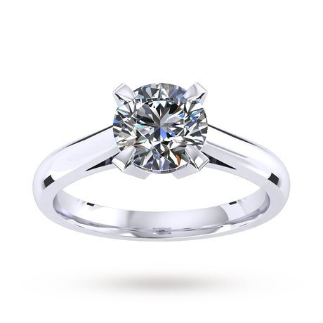 Belvedere Platinum 0.70ct Diamond Engagement Ring