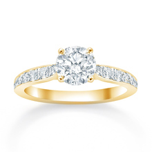 Boscobel 18ct Yellow Gold 0.37cttw Diamond Engagement Ring