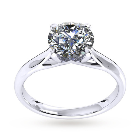 Ena Harkness Engagement Ring 0.40 Carat