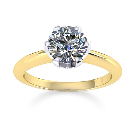 Mappin & Webb Hermione 18ct Yellow Gold 0.25ct Diamond Engagement Ring