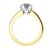 Hermione 18ct Yellow Gold 0.25ct Diamond Engagement Ring