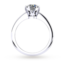 Hermione Platinum 0.25ct Diamond Engagement Ring