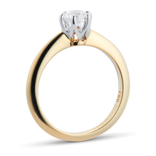 Hermione 18ct Yellow Gold 0.50ct Diamond Engagement Ring