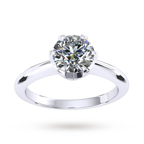 Hermione Platinum 0.50ct Diamond Engagement Ring