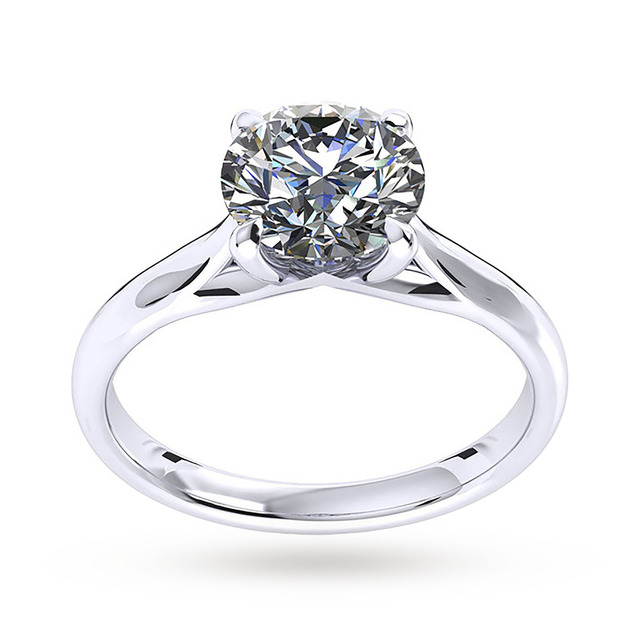 Mappin & Webb Ena Harkness Engagement Ring 1.00 Carat