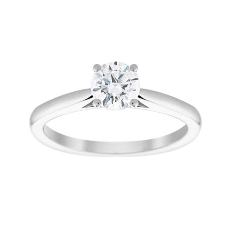 18ct White Gold 0.70cttw Solitaire Engagement Ring