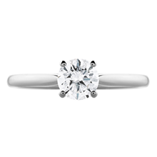 18ct White Gold 0.70cttw Solitaire Engagement Ring - Ring Size J