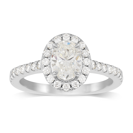 Amelia Platinum 1.20cttw Diamond Engagement Ring