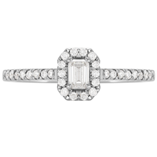 Amelia Platinum 0.33cttw Diamond Engagement Ring
