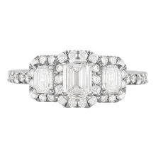 Amelia Platinum 1.00cttw Diamond Engagement Ring