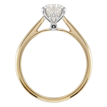 18ct Yellow Gold 1.00cttw Diamond Engagement Ring