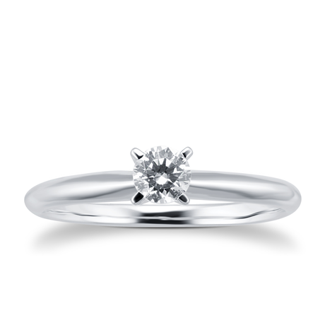18ct White Gold 0.25cttwDiamond Solitaire Ring