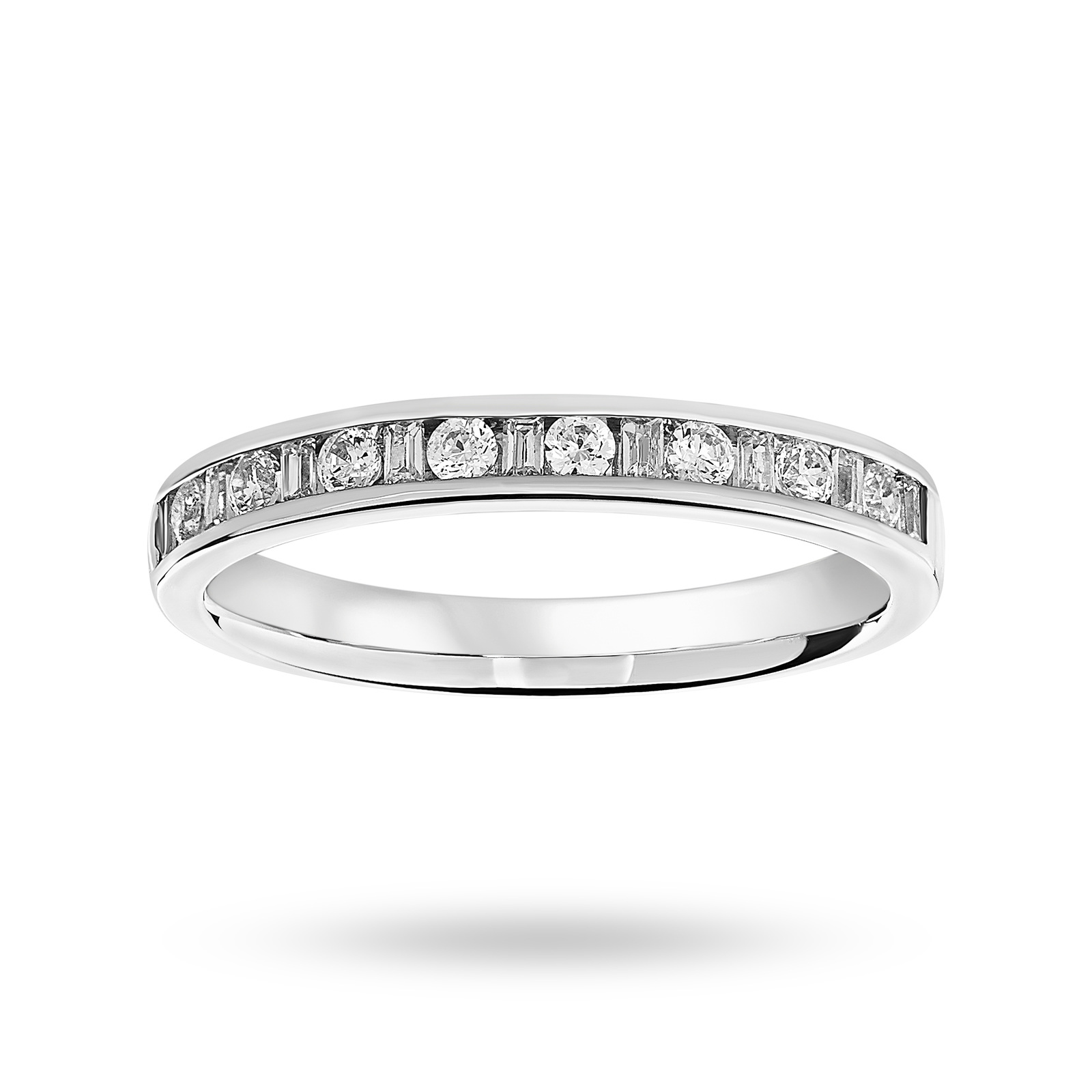 henri crossover bands diamond eternity daussi band engagement