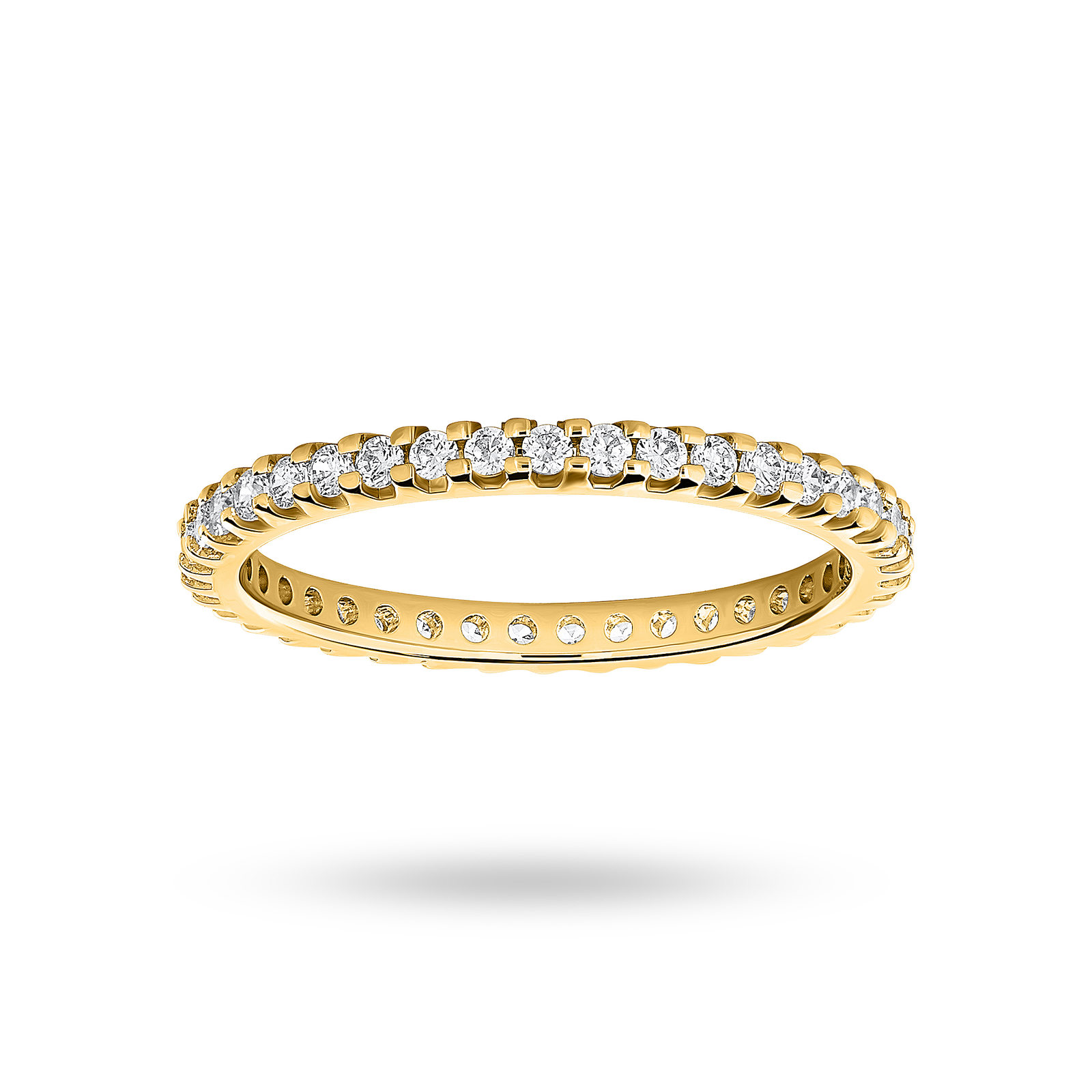 18ct Yellow Gold 0.50cttw Diamond Full Eternity Ring