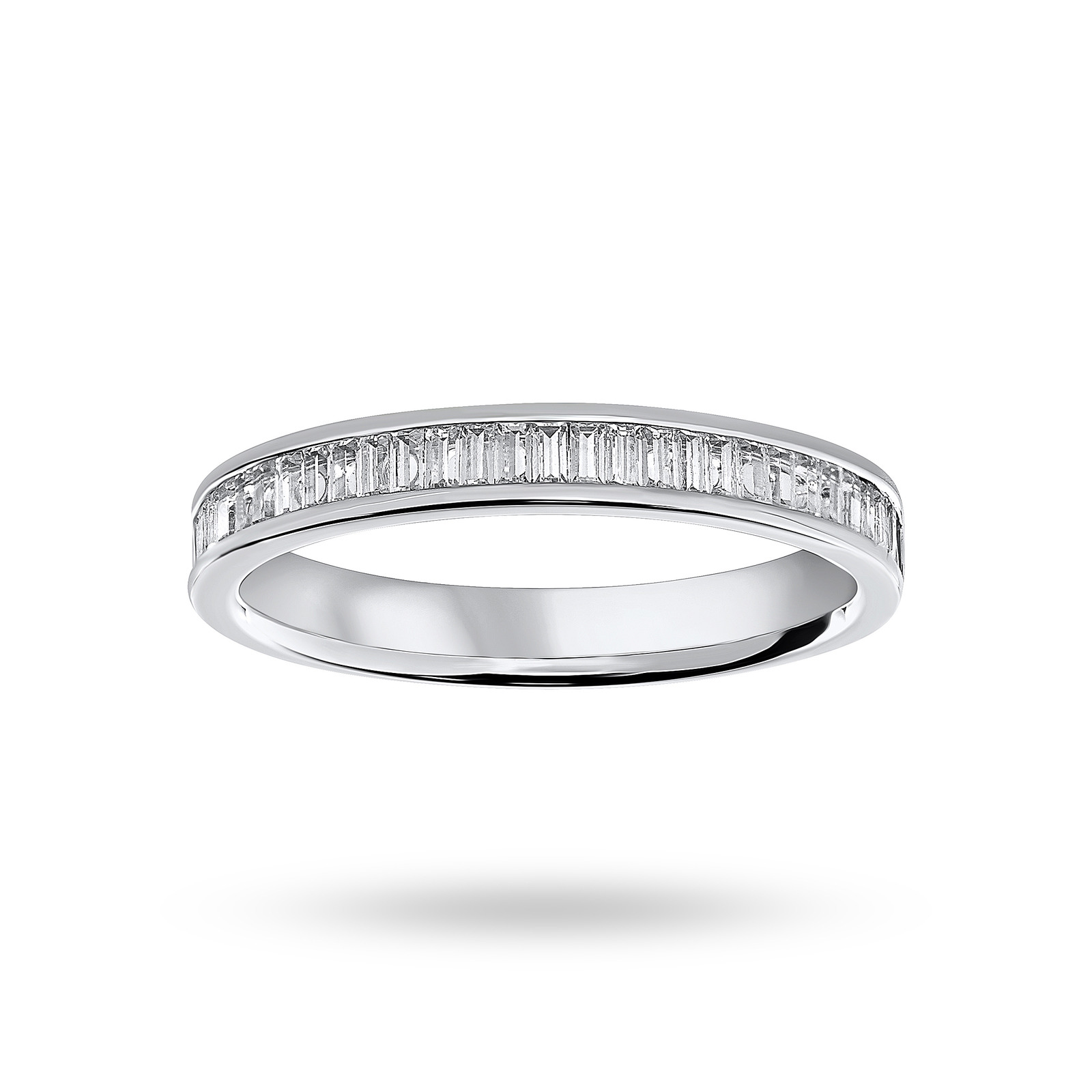 color wedding in h diamond vs g band platinum ring baguette straight and bands premium clarity
