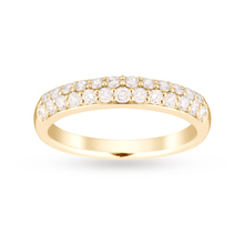 9ct Yellow Gold 0.50 Carat Total Weight Eternity Ring