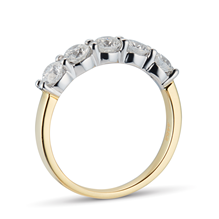 18ct Yellow Gold 1.00ct Brilliant Cut Goldsmiths Brightest Diamond Claw Set Ring