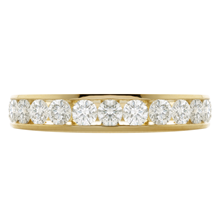 18ct Yellow Gold 1.00ct Diamond 13 Stone Eternity Ring