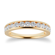 18ct Yellow Gold 0.80cttw Brilliant Cut Diamond Eternity Ring - Ring Size I