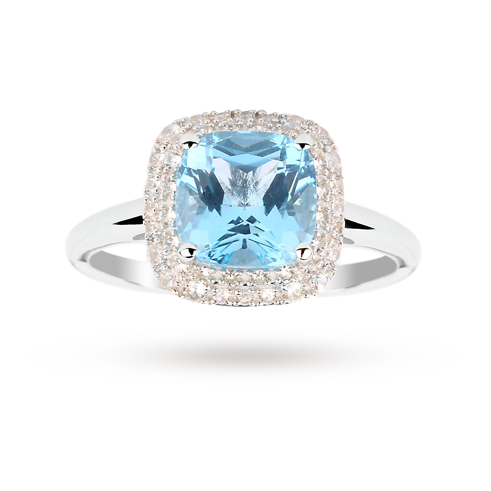 saffire carat ring diamond gold white sapphire and rings