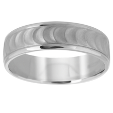 Palladium 500 6mm Fancy Pattern Band