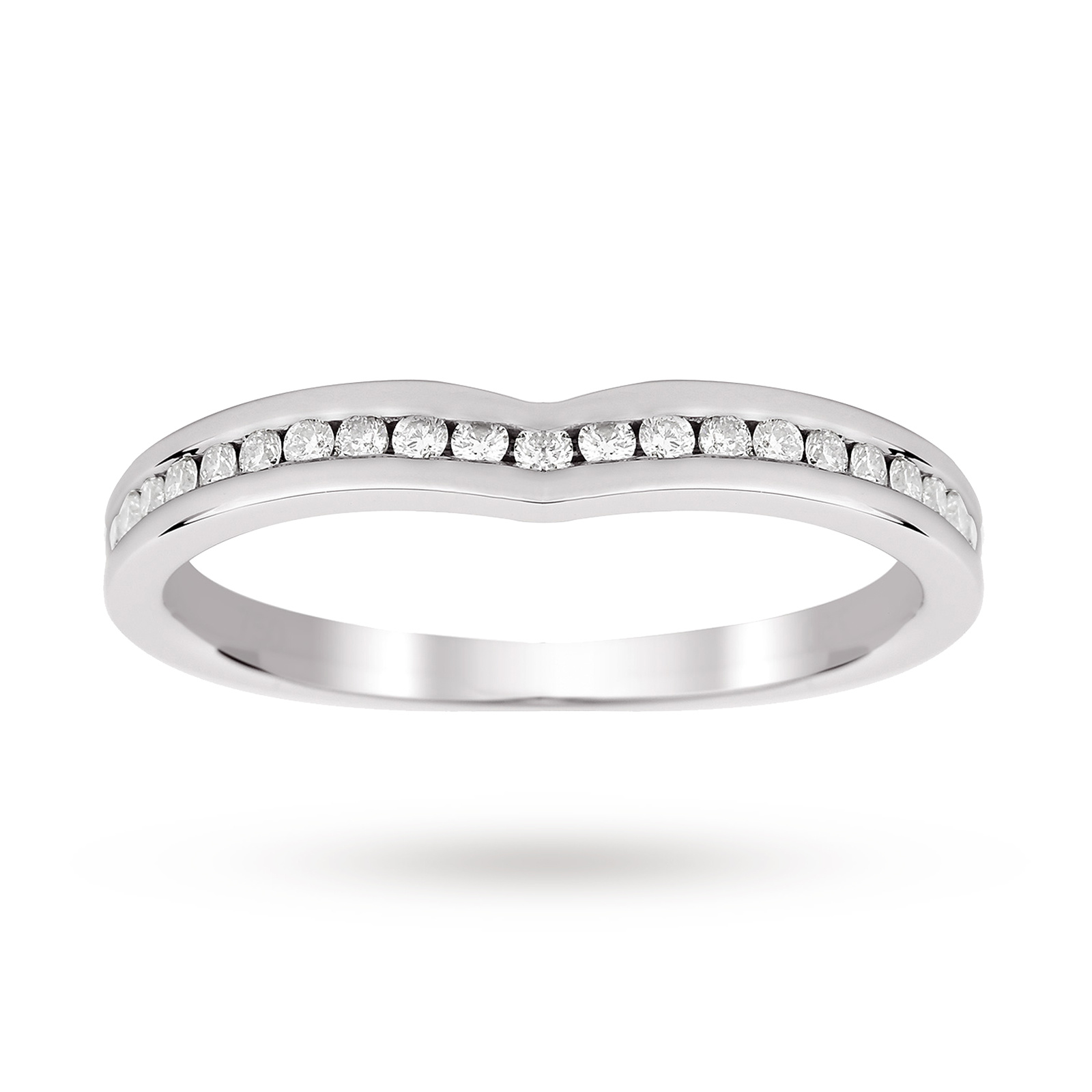 pear platinum ring goldsmiths engagement shaped mccaul collection with forged diamond twist rings