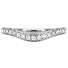 18ct White Gold 0.20cttw Diamond Wedding Ring