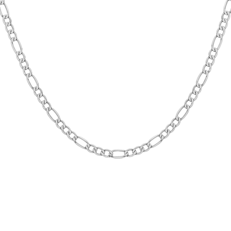 Sterling Silver Mens 20 Inch 180 Figaro Chain