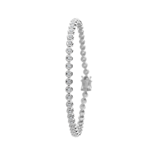 18ct White Gold 0.50ct Diamond Tennis Bracelet
