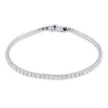 18ct White Gold 2.00ct Diamond Bracelet