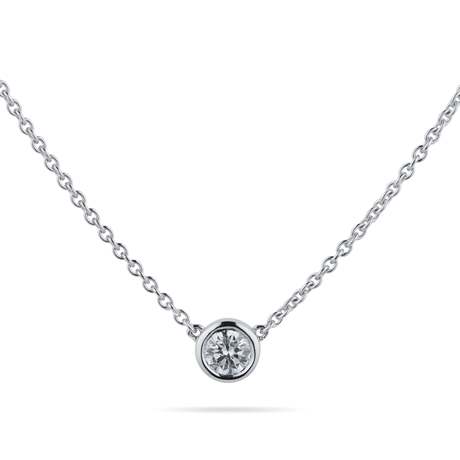 Gossamer 18ct White Gold 0.24ct Diamond Necklace