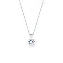 Libretto 18ct White Gold 0.60ct Diamond Pendant