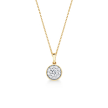 Masquerade 18ct Yellow Gold 0.48cttw Diamond Pendant