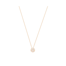 9ct Yellow Gold 0.20ct Flower Pendant