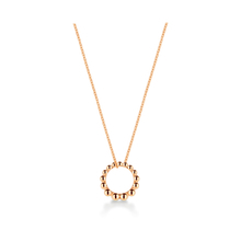 Sonnet 18ct Rose Gold Loop Pendant