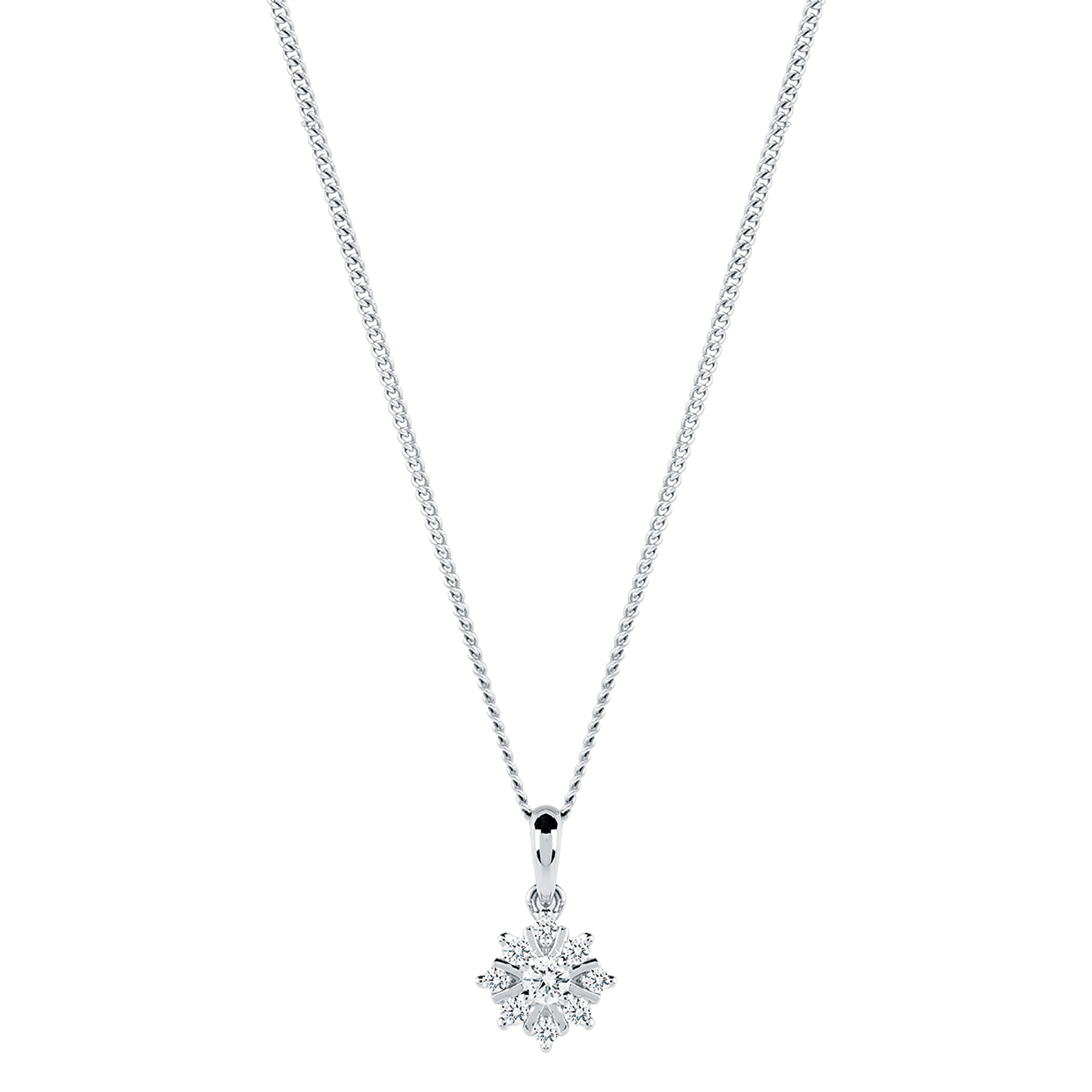 rhodium gold length rolo available accent plated chain necklace double to white hollow
