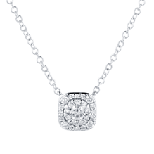 Masquerade 18ct White Gold 0.30cttw Diamond Pendant