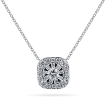 Masquerade 18ct White Gold 0.60cttw Diamond Pendant