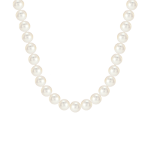 18ct White Gold Freshwater Pearl 18 Inch Necklace