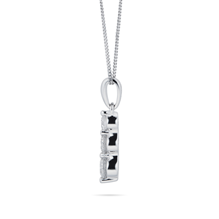 18ct White Gold 0.50cttw Three Stone Diamond Pendant
