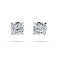 Masquerade 18ct White Gold 0.67cttw Diamond Stud Earrings
