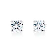 Libretto 18ct White Gold 0.30ct Diamond Stud Earrings