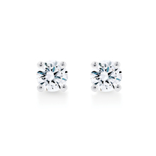 Libretto 18ct White Gold 0.60ct Diamond Stud Earrings